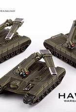 Hawk Wargames Dropzone Commander: UCM - Sabre Main Battle Tanks