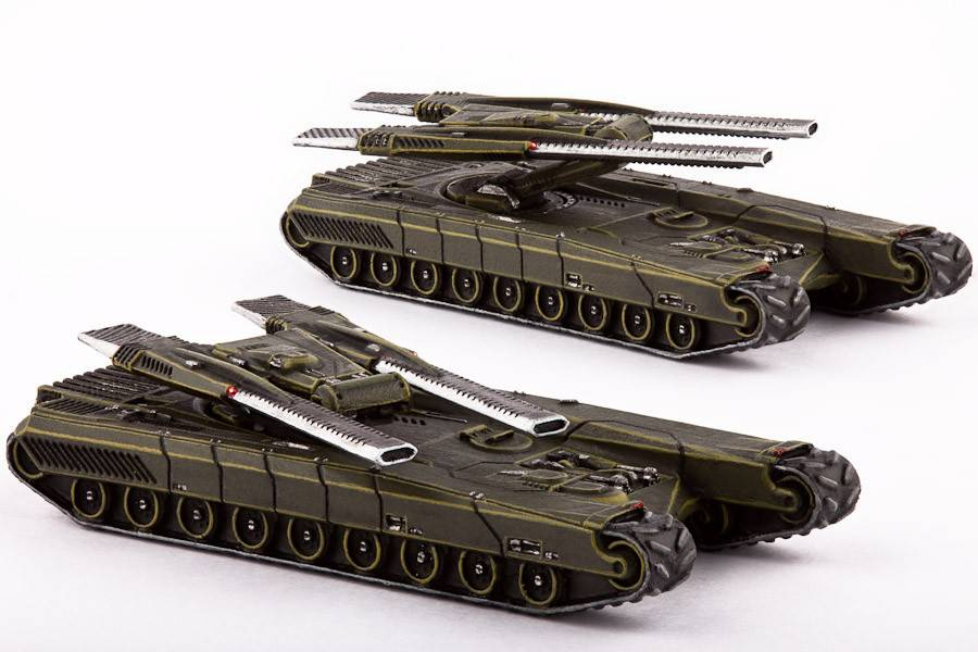 Hawk Wargames Dropzone Commander: UCM - Gladius Heavy Battle Tanks
