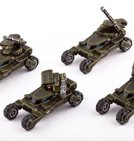 Hawk Wargames Dropzone Commander: UCM - Wolverine Scout Buggy