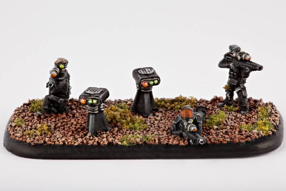 Hawk Wargames Dropzone Commander: UCM - Sniper Teams