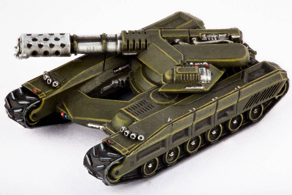 Hawk Wargames Dropzone Commander: UCM - Fireblade Light Tank