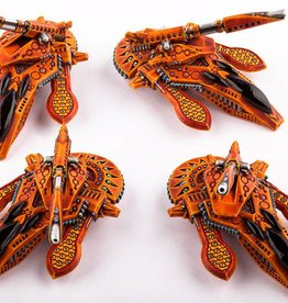 Hawk Wargames Dropzone Commander: Shaltari - Yari Light Grav-Tanks