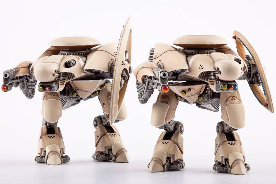 Hawk Wargames Dropzone Commander: PHR - Zeus Command Walkers