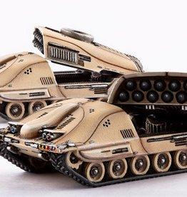 Hawk Wargames Dropzone Commander: PHR - Taranis MLRS Battery