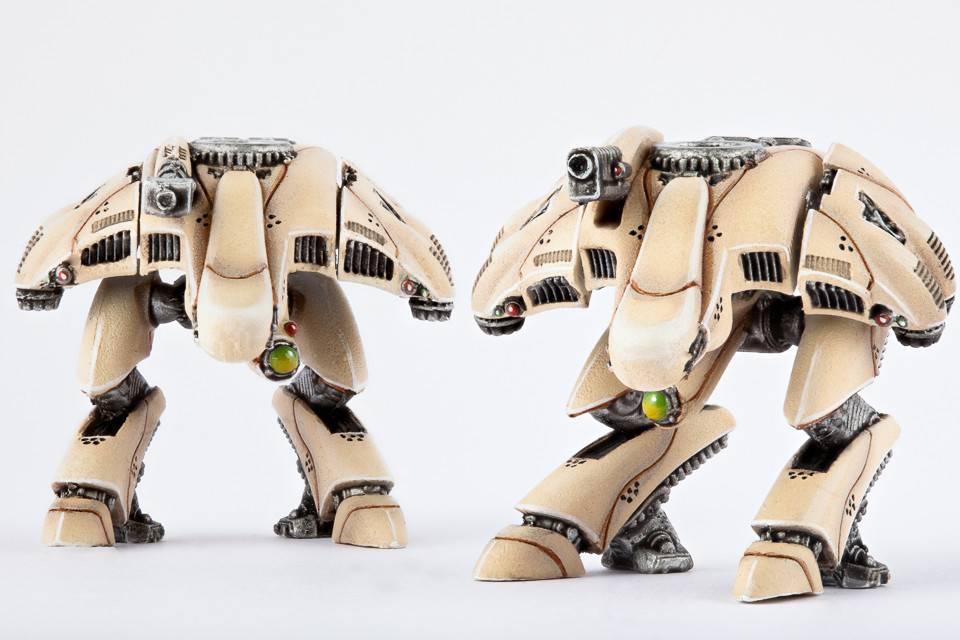 Hawk Wargames Dropzone Commander: PHR - Apollo Strike Walkers