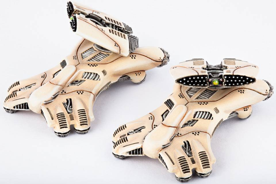 Hawk Wargames Dropzone Commander: PHR - Helios Jetskimmer