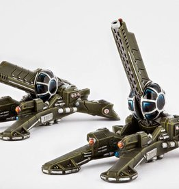 Hawk Wargames Dropzone Commander: UCM - Longbow Howitzers