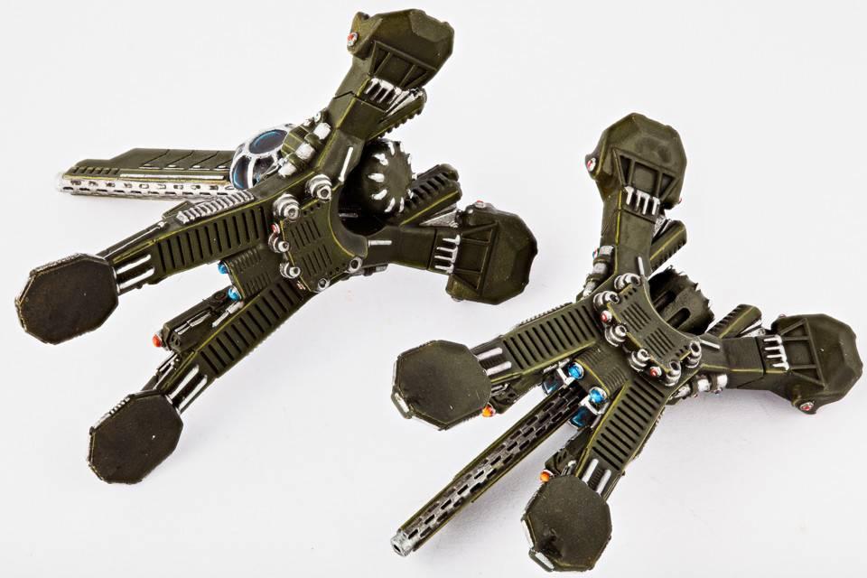 Hawk Wargames Dropzone Commander: UCM - Longbow Howitzers