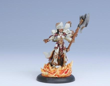 Privateer Press Warmachine: Protectorate: Feora, Protector of the Flame