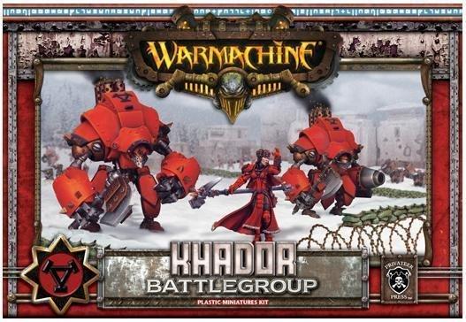 Privateer Press Warmachine: Khador - Battle Group