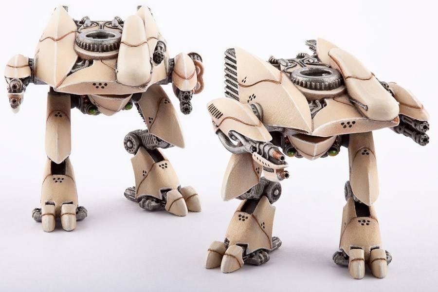 Hawk Wargames Dropzone Commander: PHR - Menchit Battle Walkers