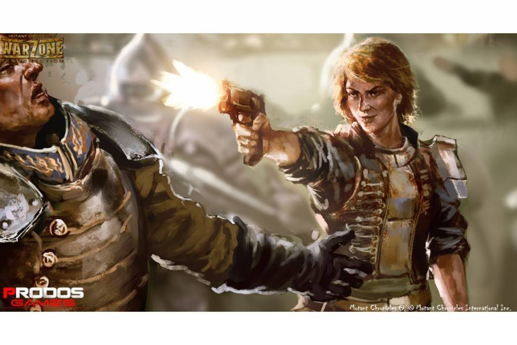 Prodos Games Warzone: Bauhaus Angelika Drachen