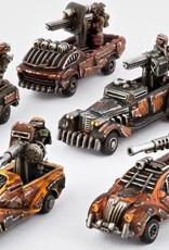 Hawk Wargames Dropzone Commander: Resistance - Gun Technicals