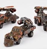 Hawk Wargames Dropzone Commander: Resistance - Fire Wagons