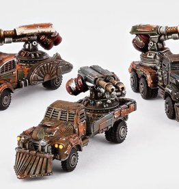 Hawk Wargames Dropzone Commander: Resistance - Fire Wagons