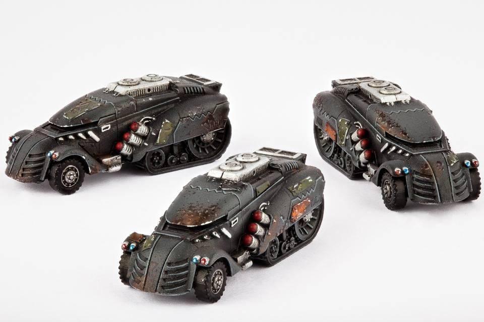 Hawk Wargames Dropzone Commander: Resistance - Jackson APCs