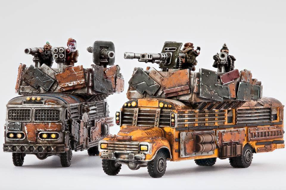 Hawk Wargames Dropzone Commander: Resistance - Battle Bus