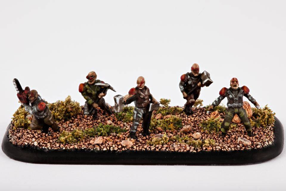 Hawk Wargames Dropzone Commander: Resistance - Berserkers