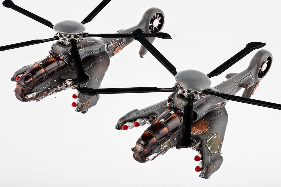 Hawk Wargames Dropzone Commander: Resistance - AH-16 Cyclone Helicopers