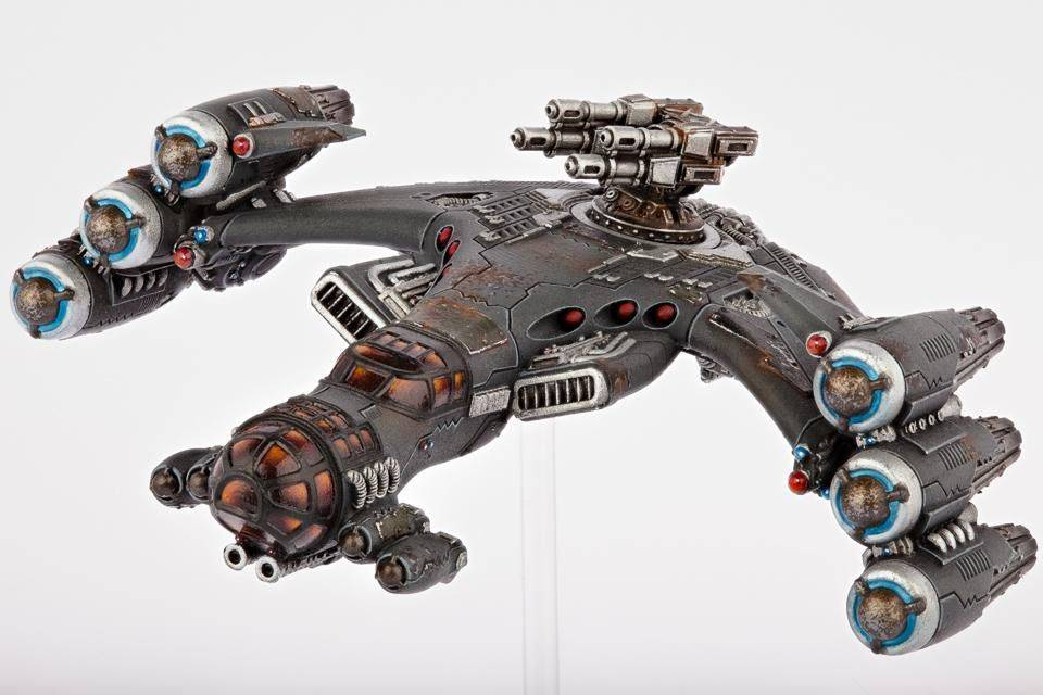 Hawk Wargames Dropzone Commander: Resistance - Lifthawk Dropship