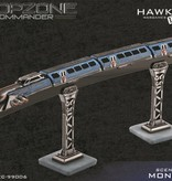 Hawk Wargames Dropzone Commander: Monorail Scenery Pack