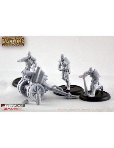 Prodos Games Warzone: Bauhaus Artillery Corps