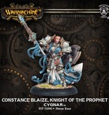 Privateer Press Warmachine: Cygnar: Constance Blaize, Knight of the Prophet