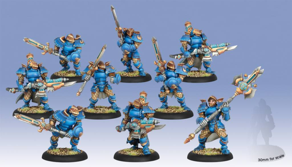 Privateer Press Warmachine: Cygnar: Stormblade Infantry & Storm Gunners