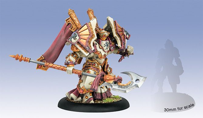 Privateer Press Warmachine: Protectorate: Exemplar Bastion Seneschall