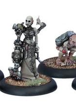 Privateer Press Warmachine: Cryx - Necro-Surgeon and Stitch Thralls