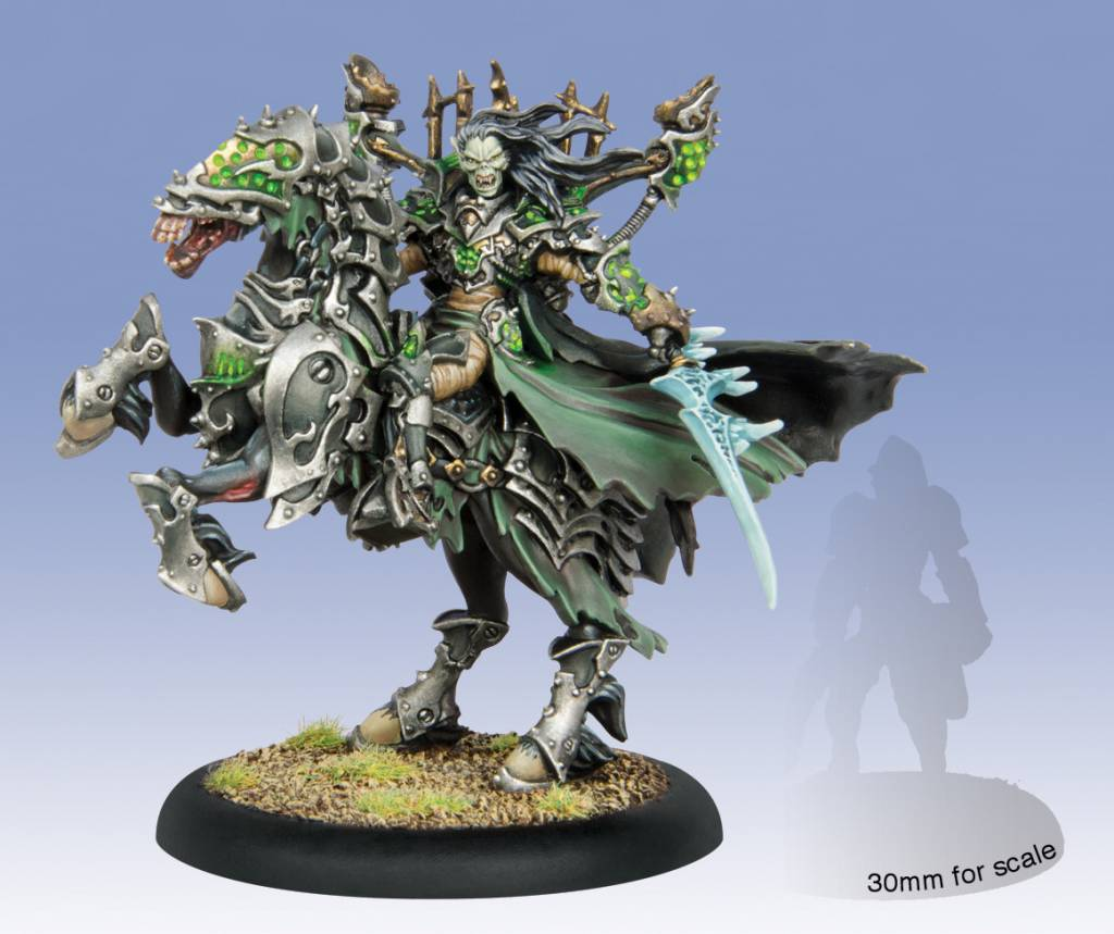 Privateer Press Warmachine: Cryx - Goreshade, Lord of Ruin