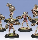 Privateer Press Warmachine: Cryx - Mechanithralls with 3 Weapon Attachments
