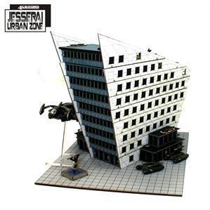 4Ground Miniatures District I Corporate Building
