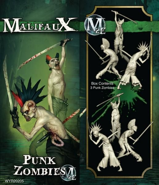 Wyrd Miniatures Malifaux: Resurrectionists: Punk Zombies