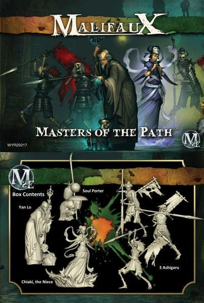 Wyrd Miniatures Malifaux: Resurrectionists: Masters of the Path