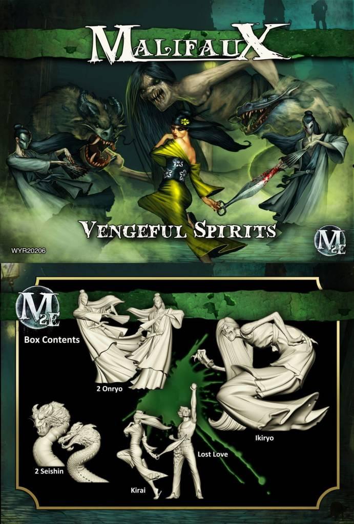 Wyrd Miniatures Malifaux: Resurrectionists: Vengeful Spirits Box Set