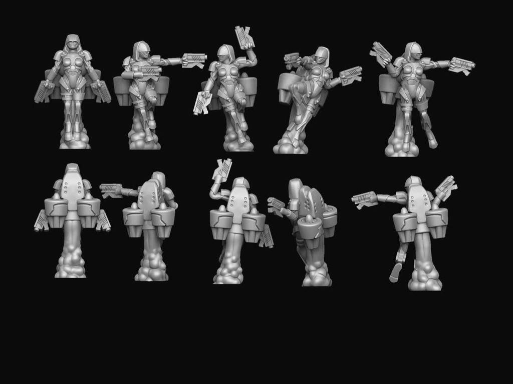 Hawk Wargames Dropzone Commander: PHR - Valkyries