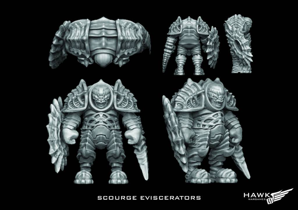 Hawk Wargames Dropzone Commander: Scourge - Eviscerators