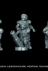Hawk Wargames Dropzone Commander: UCM - Legionnaire Mortar Teams