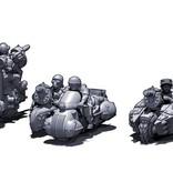 Hawk Wargames Dropzone Commander: Resistance - Attack ATVs