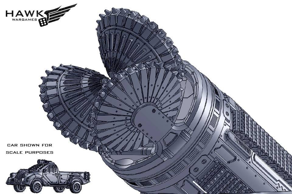 Hawk Wargames Dropzone Commander: Resistance - Jessie Adams, Guide of the Damned
