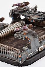 Hawk Wargames Dropzone Commander: Resistance  - Thunderstorm Command Hovercraft