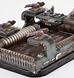 Hawk Wargames Dropzone Commander: Resistance  - Thunderstorm Command Hovercraft