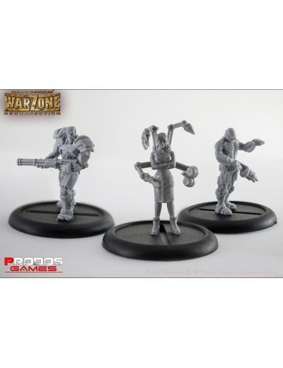 Prodos Games Warzone: Cybertronic RPG Models