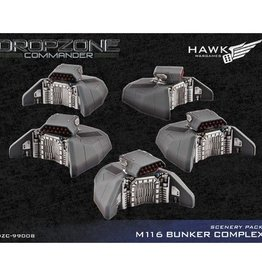 Hawk Wargames Dropzone Commander: Scenery Pack - M116 Bunker Complex