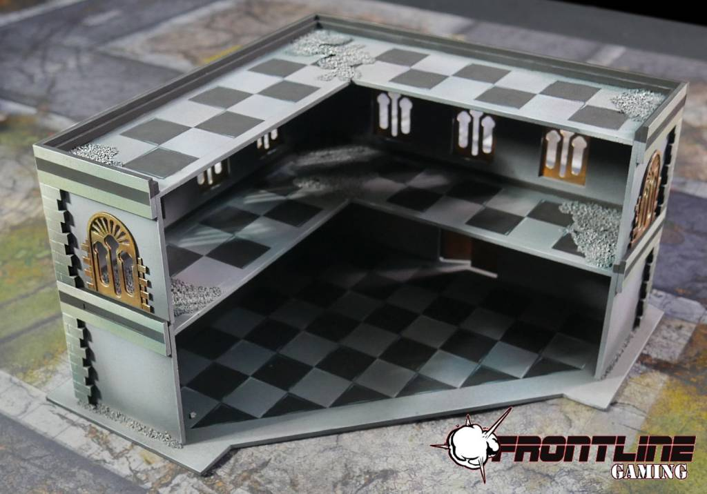 Frontline Gaming ITC Terrain Series: Urban L Building