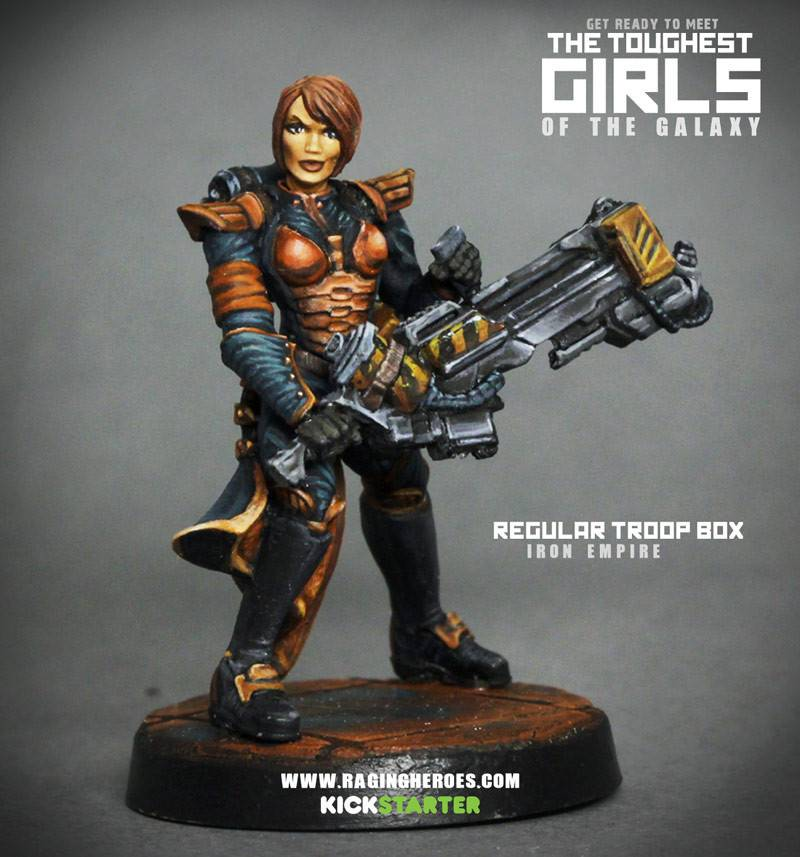 Raging Heroes IRON EMPIRE - REAPERS - TROOPS