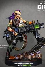 Raging Heroes JAILBIRDS - CRUZ, HEAVY GUNNER