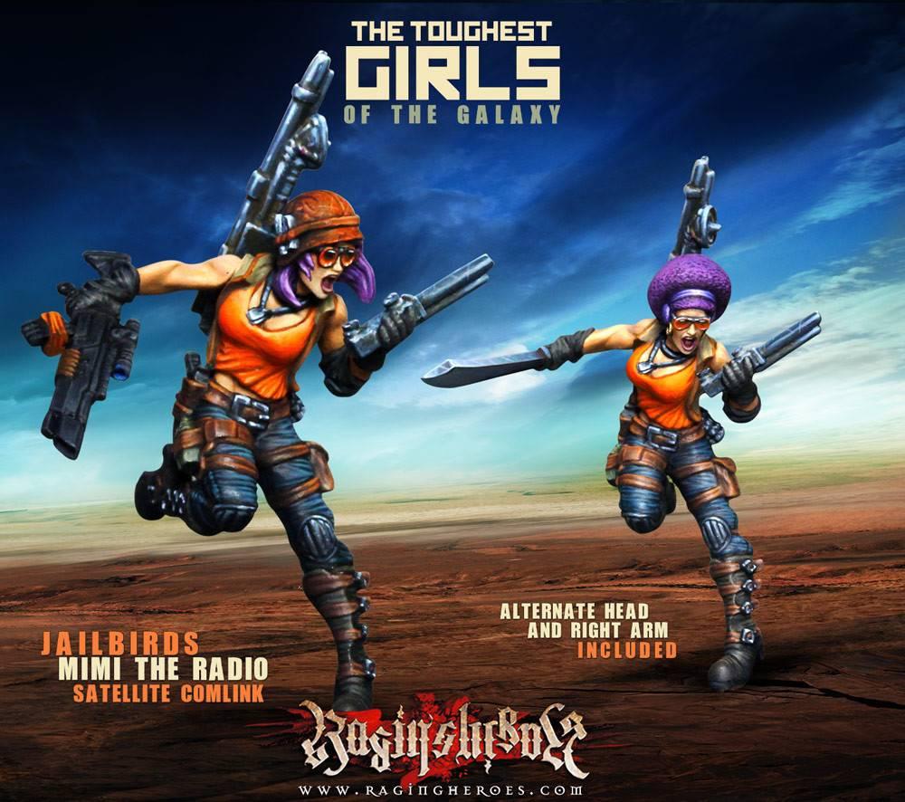 Raging Heroes JAILBIRDS - MIMI THE RADIO