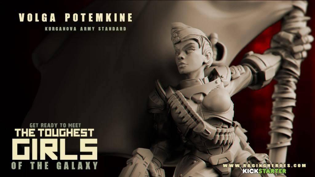 Raging Heroes KURGANOVAS - VOLGA POTEMKINE, ARMY STANDARD